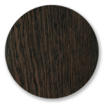 Dark Oak, with protective varnish
