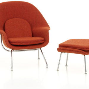 Womb chair and ottoman Vitra