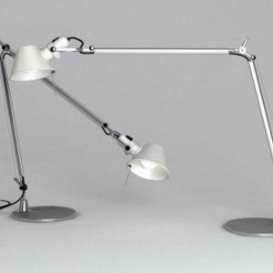 Artemide Tolomeo desk lamp with presence detector